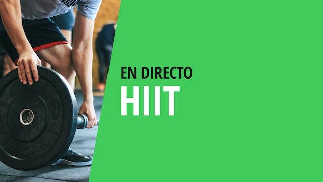 Mi. 19:00 Clase HIIT | 30 min | Entrena con Franco Valicenti