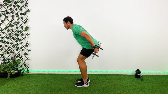 Día 5: Circuito express para bíceps y tríceps con Kuuuxy