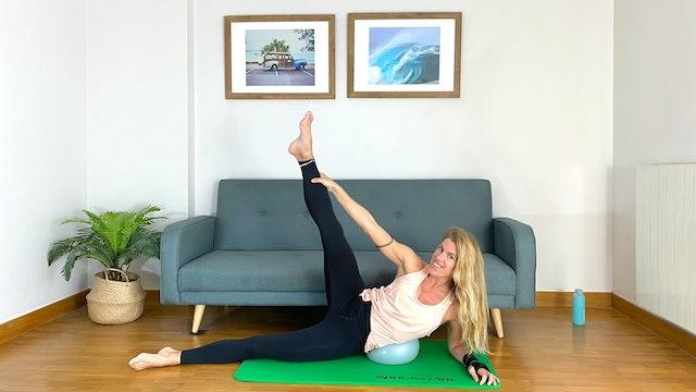 Pilates: estabilidad y fuerza   50 min   Clase con Elisa Riveres