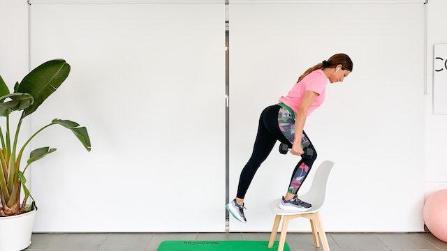 Sa. 9:00 Training: piernas y glúteos | 50 min | Con Mariatosh