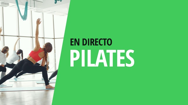 Mi. 18:00 Sesión de Pilates   50 min   En casa con Elisa Riveres