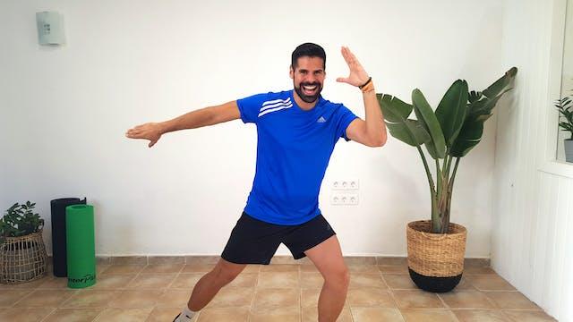 Baile deportivo en casa | 50 min | Ej...