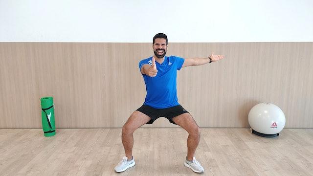 Baile deportivo en casa | 50 min | Entrena con Andrés Braganza
