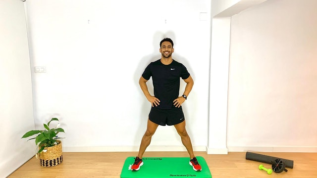 Training de piernas | 50 min | Entrena con Franco Valicenti