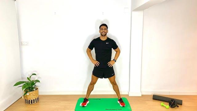 Training de piernas | 50 min | Entren...