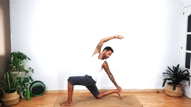 VIrayoga | 60 min | Yoga en casa con Arjuna