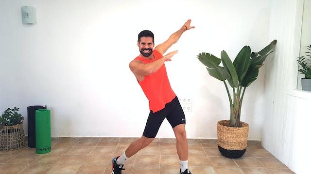Baile deportivo | 50 min | Cardio con Andrés Braganza