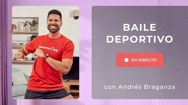 Baile Fitness | 50 min | Con Andrés B...