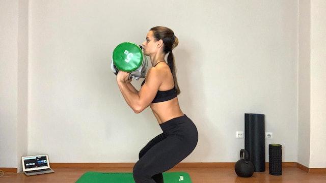 Training Total Body | 50 min | Entrena con Estefanía Gutiérrez