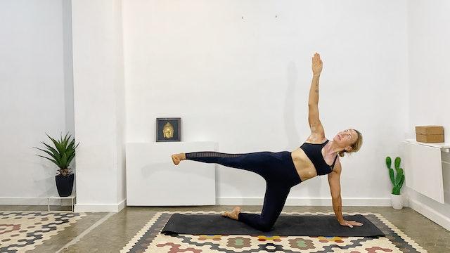 Día 20: Clase de Yoga para Core con Olga Brú