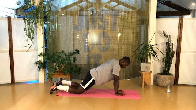 Entrenamiento físico | 50 min | Ejercicio con Jonathan Mengeli