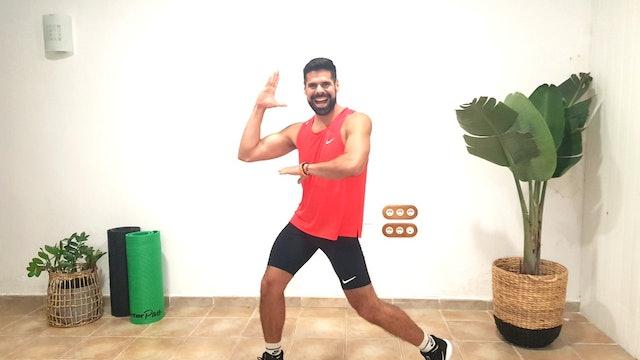 Baile deportivo | 50 min | Baila con Andrés Braganza
