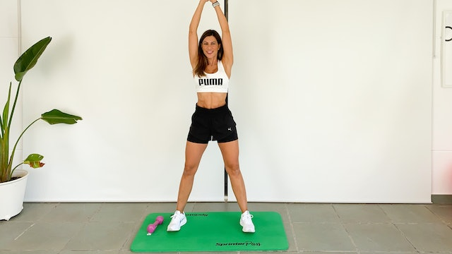 Fullbody Training | 50 min | Entrena con Mariatosh
