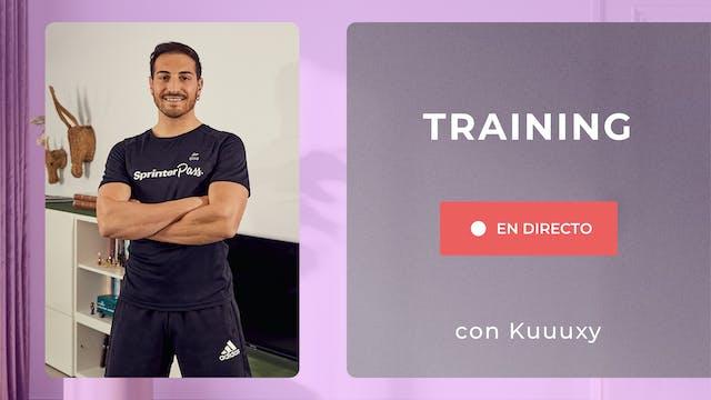Ma. 9:00 Training: Tren Superior | 50...