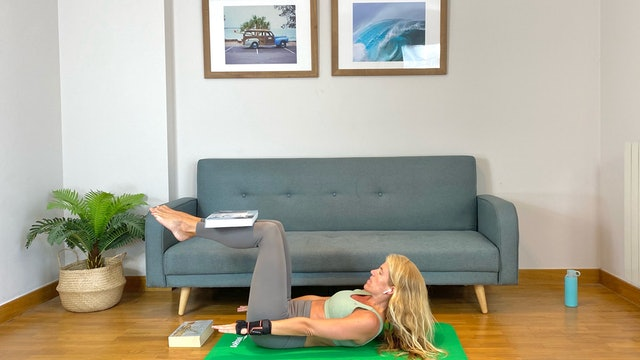 Día 14: Pilates y abdominales con Elisa Riveres