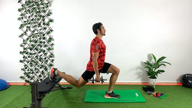 Training de glúteo y piernas | 50 min...