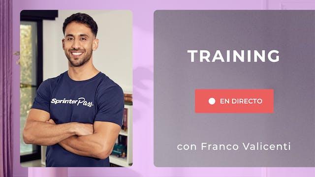 Ma. 18:00 Training: Piernas + Cardio ...