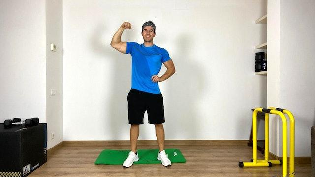 Training Full Body | 40 min | Entrena con Rubén García