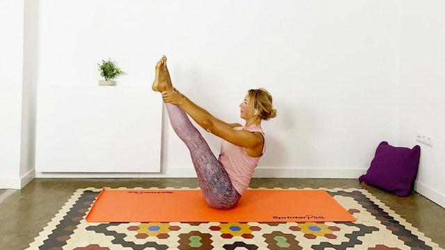 Pilates en casa | 50 min | Clase con Olga Bru