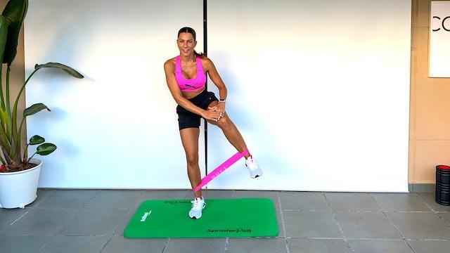 Training Glúteos y piernas | 50 min | Entrena con Mariatosh