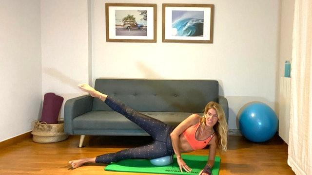 Pilates en casa | 50 min | Clase con Elisa Riveres