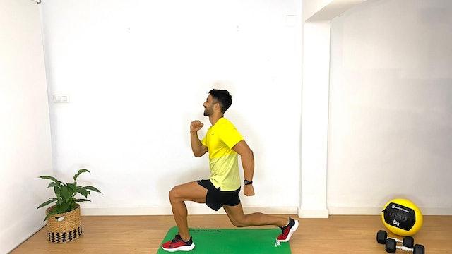 Training intenso de piernas | 50 min | Entrena con Franco Valicenti