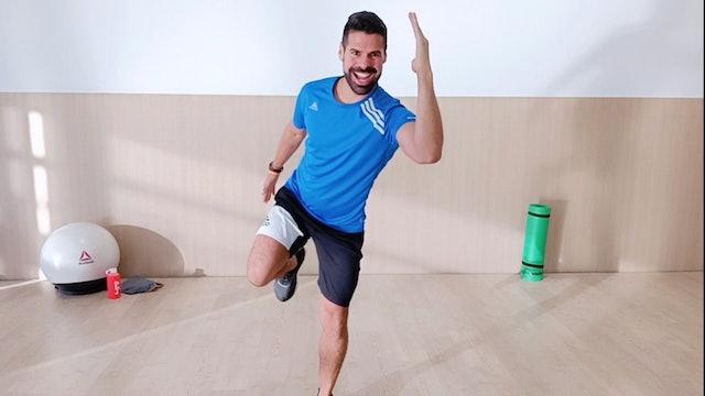 Baile deportivo | 50 min | Diviértete con Andrés Braganza