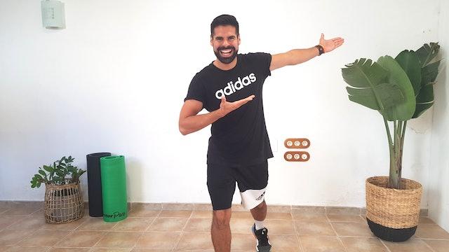 Baile deportivo | 50 min | Muévete con Andrés Braganza