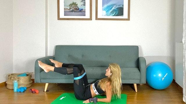 Pilates | 50 min | Sesión con Elisa Riveres