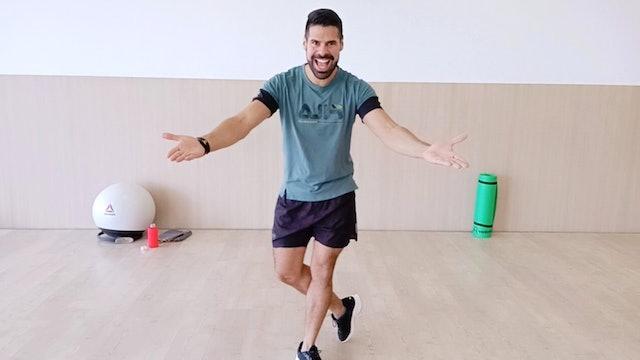 Baile deportivo | 50 min | En casa con Andrés Braganza