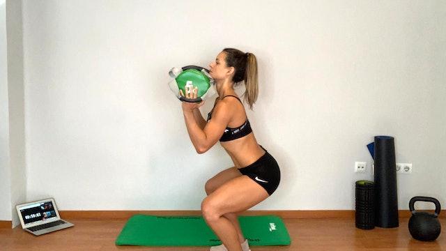 Training Total Body | 60 min | Entrena con Estefanía Gutiérrez