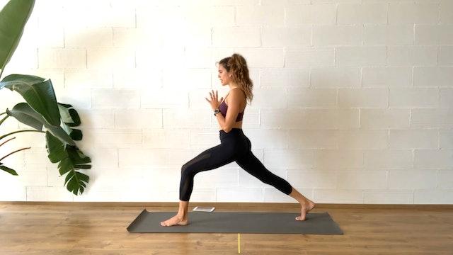 Yoga-HIIT | 50 min | Clase de yoga con Irene