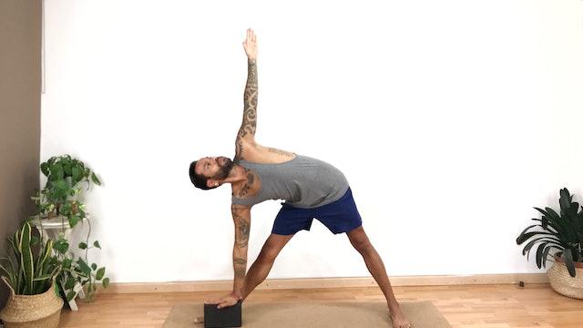 Sesión de Virayoga | 60 min | Clase de yoga con Arjuna