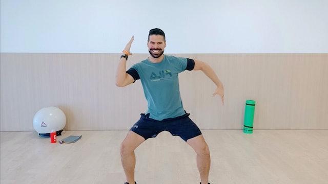 Baile deportivo | 50 min | Entrena con Andrés Braganza
