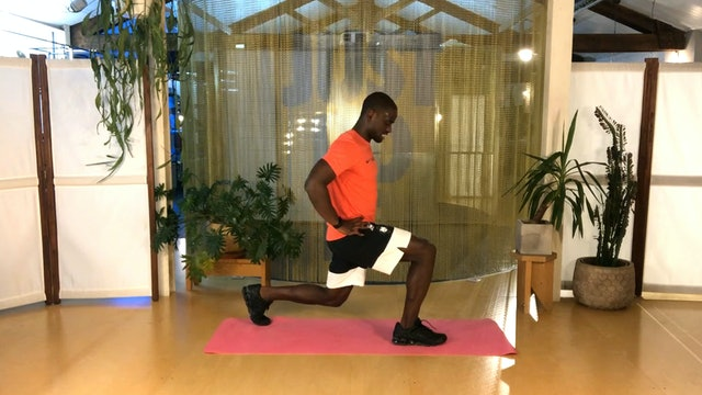 Mi. 19:00 Training físico | 50 min | Entrena con Jonathan Mengeli
