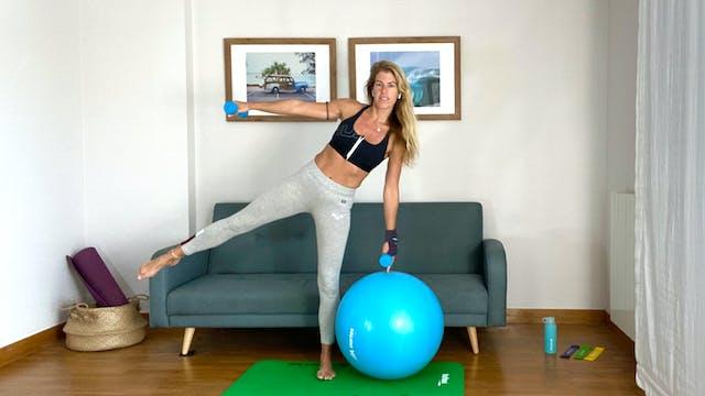 Pilates: estabilidad y fuerza | 60 mi...