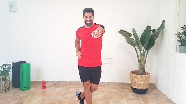 Lu. 9:00 Baile deportivo | 50 min | Baila con Andrés Braganza