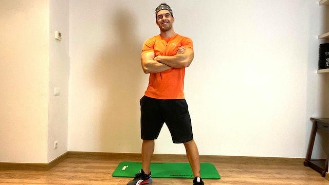 Mi. 19:00 Training | 50 min | Entrena con Rubén García