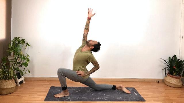 Lu. 14:00 Virayoga | 60 min | Clase de yoga con Arjuna