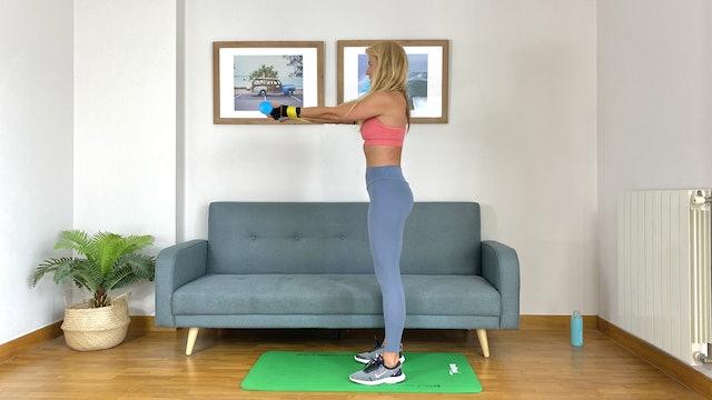 Día 14: Circuito de bíceps y espalda con Elisa Riveres