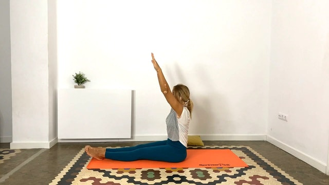 Pilates en casa | 50 min | Clase con Olga