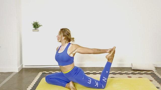 Mi. 7:00 Yoga avanzado | 60 min | Clase de yoga con Olga Brú