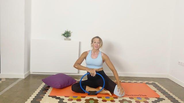 Pilates | 50 min | En casa con Olga Bru