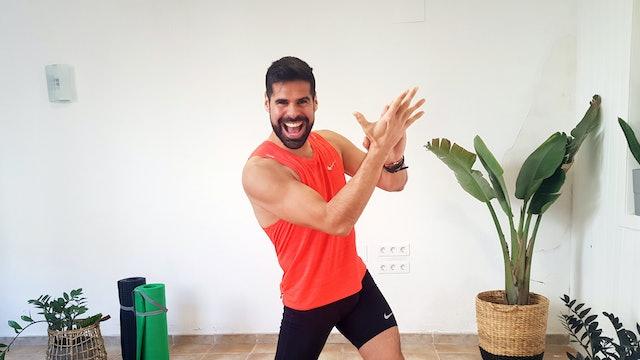 Ju. 10:00 Baile deportivo | 50 min | Muévete con Andrés Braganza
