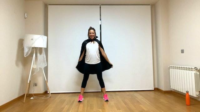 Ju. 20:00 Baile deportivo | 50 min | Entrena con Gemma Marín