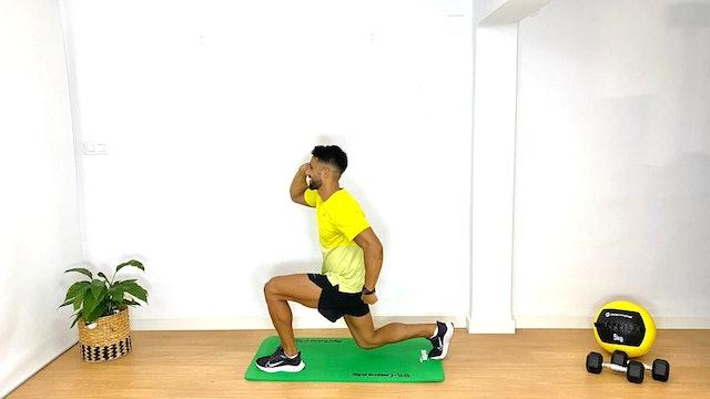 Training pierna-glúteo | 50 min | Entrena con Franco Valicenti