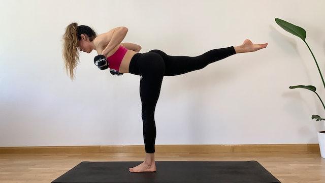 Día 19: Yoga HIIT con Irene Alda