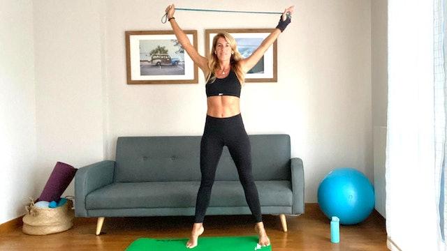 Clase de pilates | 50 min | Pilates en casa con Elisa Riveres