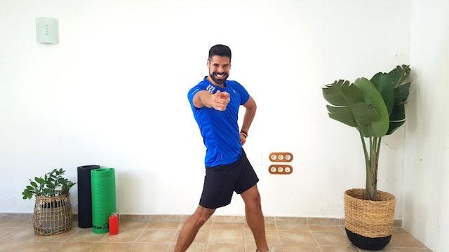 Baile deportivo | 50 min | Ejercicio con Andrés Braganza
