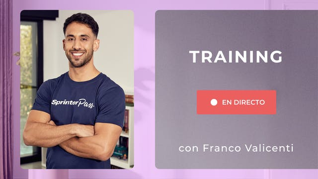 Lu. 10:00 Training: fuerza | 50 min |...